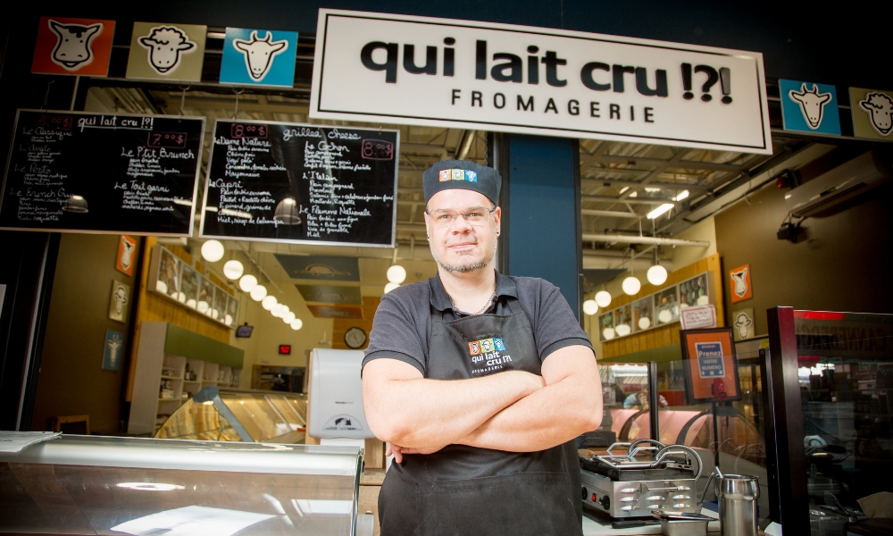 Fromagerie qui lait cru !?!, Fromagers