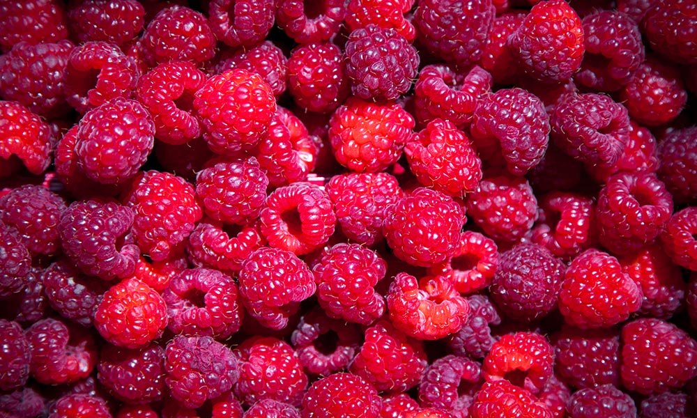 Organic raspberry, Fruits et légumes