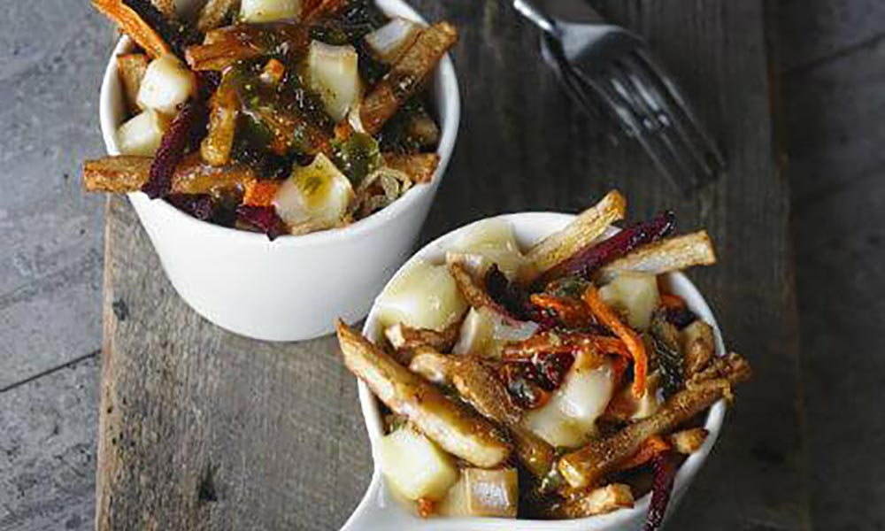 Root Vegetable Poutine, Accompagnements